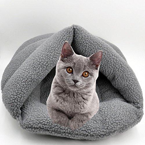 large-gray-fleece-pet-snuggle-sack-coutudi-58x68cm-soft-and-warm-cat-paw-design-sleeping-bag-puppy-b