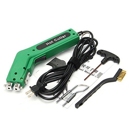 DADEQISH Heißes Heizungsmesser-Scherblockwerkzeug des Hand-110V 100W für Gewebe-Seilschneider Werkzeugzubehör