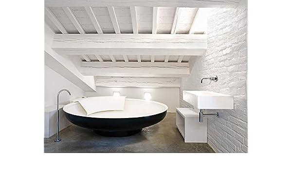 Vasca Da Bagno Ufo : Vasca da bagno agape ufo bicolore avas0906: amazon.it: fai da te