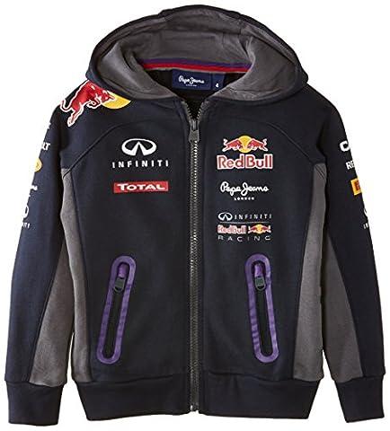 Pepe Red Bull Racing Collection - Sweat-Shirt Garçon 8 ans Bleu marine