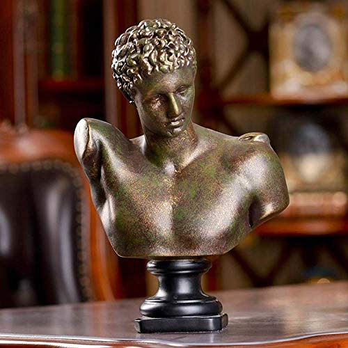 MIOEPX Skulptur Retro Venus Figur Griechische Mythologie Aphrodite Statue Harz Kunst & Handwerk Dekoration Zubehör Für Wohnzimmer
