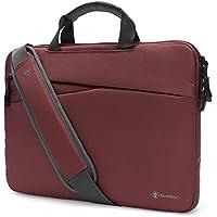 "Tomtoc 3-en-1 Slim Bolsa de Hombro para ordenador portátil, Bolosa protectora de 360 ° para ordenador portátil para 15"" New MacBook Pro Touch Bar A1707 | 14"" ThinkPad T-Series / X1 Carbon 1-4th Gen | 14"" HP Acer Chromebook"