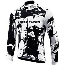 Uglyfrog 2018-2019 Nuevo De Invierno Mantener Caliente MTB Manga Larga Maillots Bicicleta Hombre Invierno