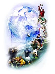 Reproduction Image Art Ydan Sport Rugby format 50X70 cm