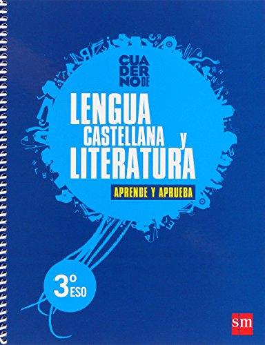 Lengua castellana y literatura. 3 ESO. Aprende y aprueba. Cuaderno - 9788467553543