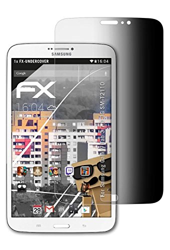 ilter kompatibel mit Samsung Galaxy Tab 3 7.0 3G SM-T2110 Blickschutzfolie, 4-Wege Sichtschutz FX Schutzfolie ()
