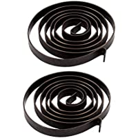Sourcingmap–® 6x 0.65mm 680mm Drill Press Quill Feed Return Coil Spring Asamblea 2pcs