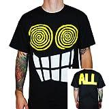Camiseta para hombre Todos–allroy Negro negro Medium