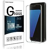 Galaxy S7 Edge Protection Écran,Soyion Anti-rayures Résistant Film de Protection d' Écran en Verre Trempé pour Samsung Galaxy S7 Edge