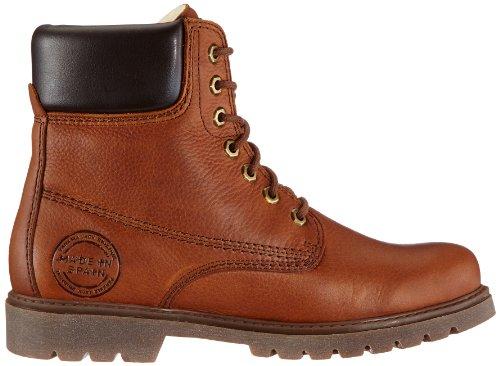 Panama Jack Panama 03 Wool  Herren Warm gefüttert Biker Boots Kurzschaft Stiefel & Stiefeletten Braun (Bark)