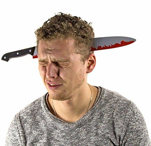 MESSER Halloween blutig Kunstblut Blut Schwert (Schwert Halloween)