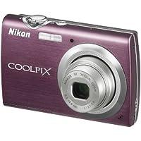 Nikon Coolpix S230 Digitalkamera (10 Megapixel, 3-fach optischer Zoom, 7,6 cm (3 Zoll) Display) lila