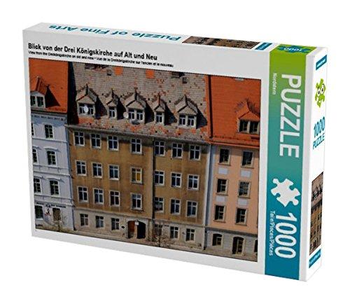 Preisvergleich Produktbild Blick von der Drei Königskirche auf Alt und Neu 1000 Teile Puzzle quer (CALVENDO Orte)