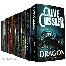Clive Cussler Dirk Pitt Series – 12 books Pacific Vortex / Mayday! / Iceberg / Raise the Titanic / Vixen 03 / Night Probe / Deep Six / Cyclops / Treasure / Dragon / Sahara / Inca Gold rrp £95.88