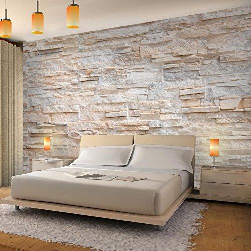... Fototapeten Steinwand 3D Effekt 352 X 250 Cm Vlies Wand Tapete  Wohnzimmer Schlafzimmer Büro Flur Dekoration ...