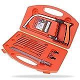 ecosway Magic Kit, 13in 1Set Universal-Fuchsschwanz DIY Multi Purpose Schleife-Saw Holz arbeiten, Küche, Glas, Fliesen, Holz, Metall, Kunststoff