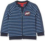 s.Oliver Baby-Jungen Spieler Sweatshirt-Jacke, Blau (Medium Blue Stripes 53G8), 80