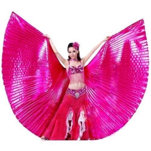 Isis Wings Flügel Schleier Bauchtanz Belly dance Kostüm Fasching Karneval Samba Tanz (Kostüm Samba Tanz)