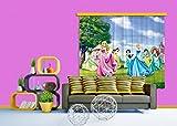 AG Design Gardine/Vorhang FCS XL 4322, Kinderzimmer Disney Princess Prinzessin