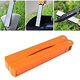 Handschärfer Tasche falten Diamant-Messerschärfern Stein doppelseitig 400/600 Körnung fein / grob Schleifsteine für Küchenmesser,Scheren,Externe Werkzeug (orange)
