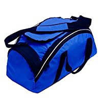 Finden & Hales Ultimate Team Sports Holdall Carry Duffle Bag (35 Litres) (One Size) (Navy/Royal/White)