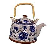 Best Coffe Pots - Purpledip Ceramic Kettle 'Blue Beauty': 850ml Tea Coffee Review