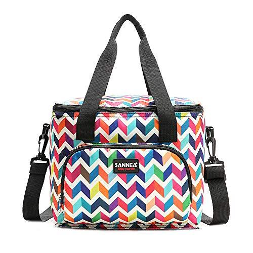 EVAEVA-bags Thermal Bag Lunchtasche Lunch Pouch KüHltaschen Picknicktaschen für Frauen Kinder Mädchen Männer Teen Jungen Büro Lebensmittel Schule Reisen