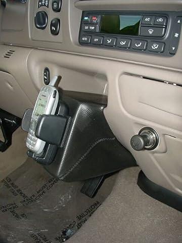KUDA Telefonkonsole passend für: Ford Excursion / Super Duty (USA) Echtleder schwarz