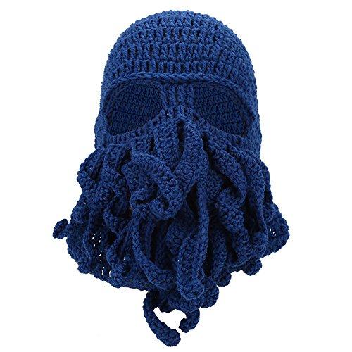 Kreative Art Kappe, lustiger Winter warmer thermischer windundurchlässiger weicher Woolen Masken Knit ()