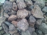 Der Naturstein Garten 5 kg Lava Steine 40-150 mm - Gasgrill Elektrogrill Lavastein Lavasteine Kies Kiesel Aquarium - Lieferung Kostenlos