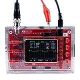 DSO138 2.4 pulgadas TFT del osciloscopio digital soldado/piezas DIY Kit/caja de acrílico (Color