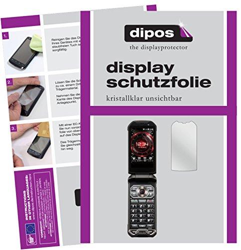 dipos I 6X Schutzfolie klar passend für Kyocera Torque X01 Folie Bildschirmschutzfolie