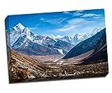 Himalaya Gebirge Leinwand Kunstdruck Poster 76,2x