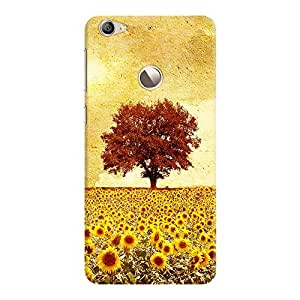 DailyObjects Lone Tree And Sunflowers Field Case For Letv Le 1S