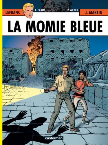 Lefranc, Tome 18 : La momie bleue