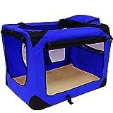 LIVIVO ® Lightweight Premium Dog Cat Puppy Fabric Portable Carrier Folding Crat