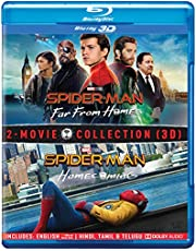 2 Movies Collection: Spider-Man: Far From Home + Spider-Man: Homecoming (Blu-ray 3D) (2-Disc)