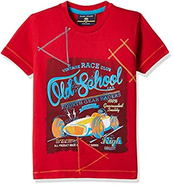 Duke Boys' T-Shirt (7196Q_Red_24)