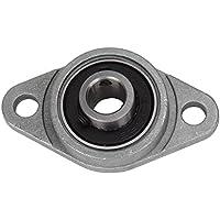 CNBTR KFL08 Cuscino in lega di zinco e supporti a flangia di blocco, diametro 8 mm