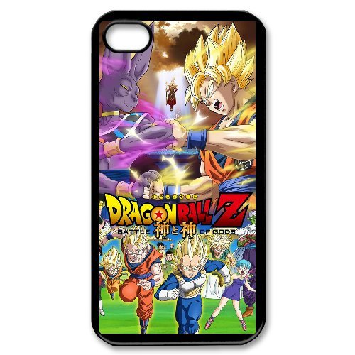 iPhone 4S case - [Dragon ball z super] case for Apple iPhone 4 4S,phone case for iphone4s, rubber TPU cover case protector for iPhone4 4S 3D236