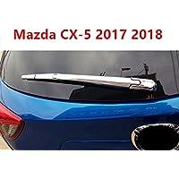 ABS Chrome trasera Back ventana limpiaparabrisas de coche 4 piezas para CX5 CX-5 segunda
