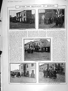 Duc Baden Louis Louise de 1906 de Massacre Juifs de Siedlce