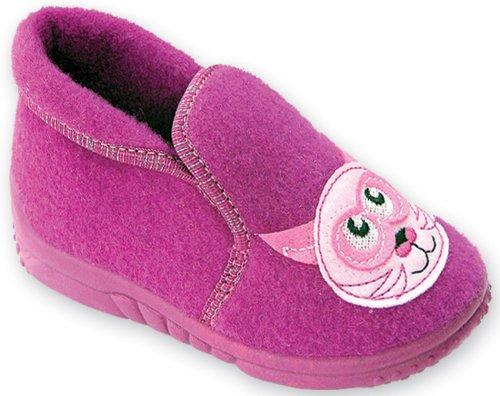 Lemigo Pantofole per Bambina LMG-407 (Fucsia (Gatta), 23)