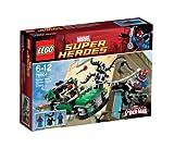 LEGO Super Heroes – Marvel Spiderman: Persecución en la moto Araña (76004)