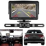 LeeKooLuu RC 9V-24V Wireless Rear View Backup Camera and Monitor Kit Waterproof For all Car / Vehicle / Truck / Van / Caravan / Trailers / Camper with 7 LED Night Vision LKL-0049