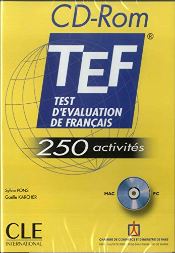 Test D'Evaluation De Francais - 250 Activites: CD-Rom
