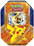 Pokemon 25872 - PKM Tin 63 Pikachu, Sammelkartenspiel