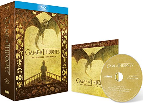 Picture of Game of Thrones - Season 5 (Includes Bonus Disc - Exclusive to Amazon.co.uk) [Blu-ray]