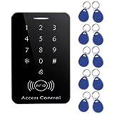 Detectoy Access Controller, M203SE RFID Standalone Touchscreen Zugangskontrolle Kartenleser mit digitaler Tastatur 10pcs Keys Card für Home Apartment Factory