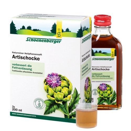 Schoenenberger Artischocke, 3x200 ml Saft